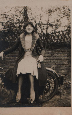JGML collection: Mary Violet circa 1931
