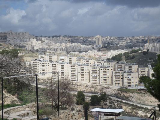 Israeli settlement near Bethlehem