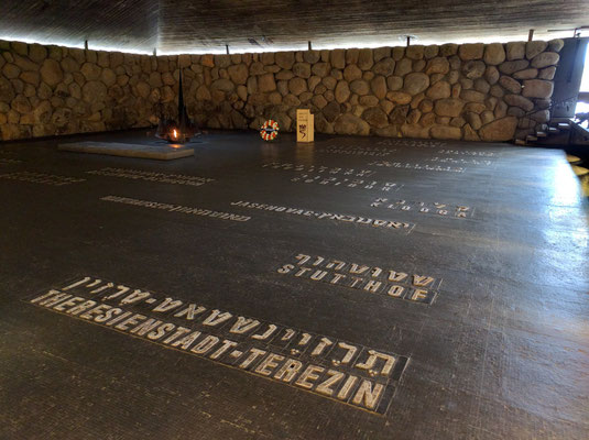 The Holocaust Museum- Yad Vashem