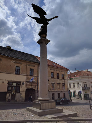 The Angel statue, Uzupis