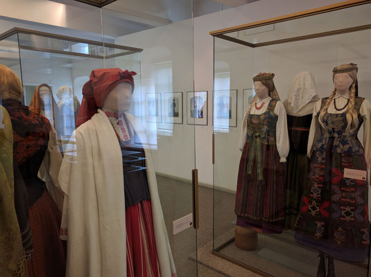 National Museum: national costumes