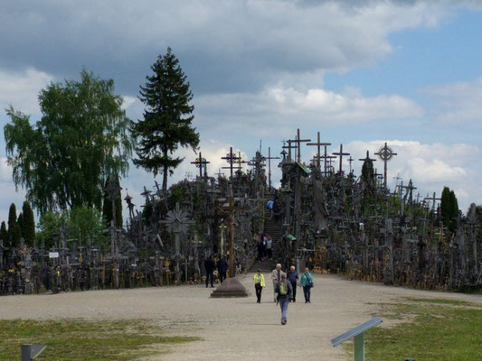 The Hill of Crosses, northern Lithuania