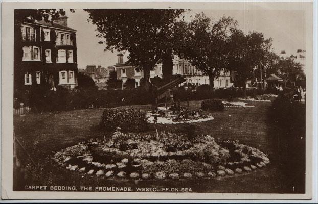 32. Carpet bedding, The Promenade, Southend