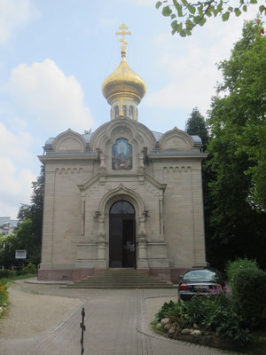 Russian church in Baden-Baden