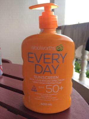 2 Wochen und einen halben Liter 50+ Sonnencreme später..