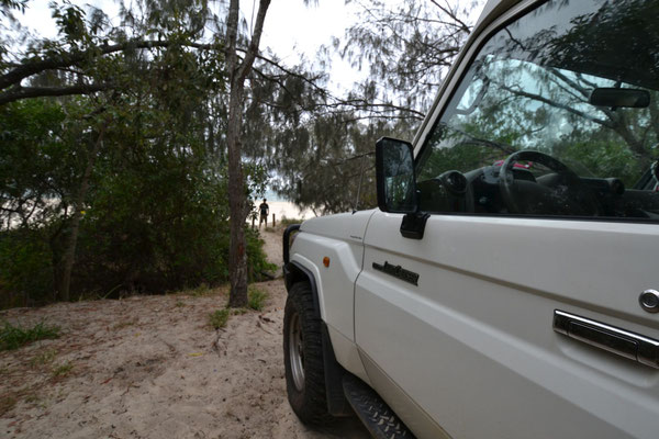 Camping beim Inskip Point