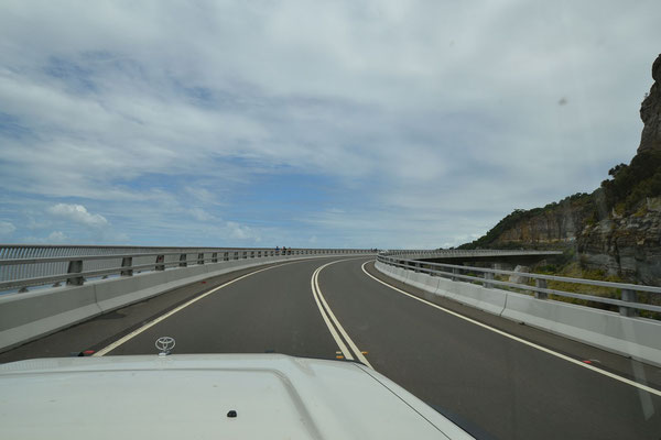 Seacliff Bridge zum Ersten..