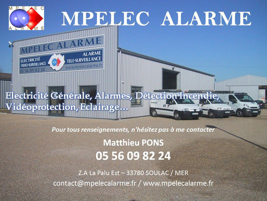 MPELEC videoprotection MEDOC