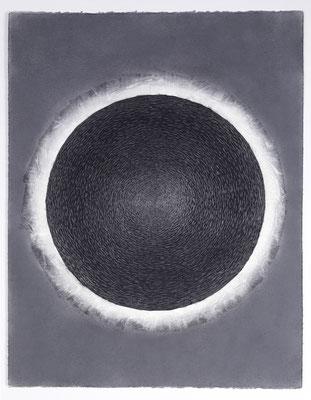 """""""OT 14.7.99"""" , 65x50 cm  auf Arches  Papier"""