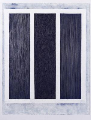 """""""Segmente 16.7.1991 (Berlin)""""  65x50 cm  auf Arches  Papier"""