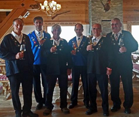 Thomas, Karsten, Thomi, Hannes, Hanspeter, Bernhard