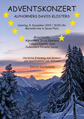 Adventskonzertflyer