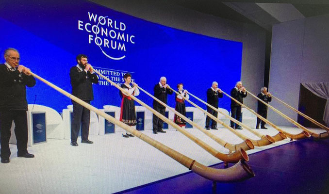 Eröffnung WEF2019 Davos