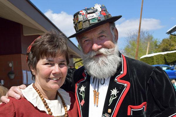 Erika Rageth und Eugen Fenner