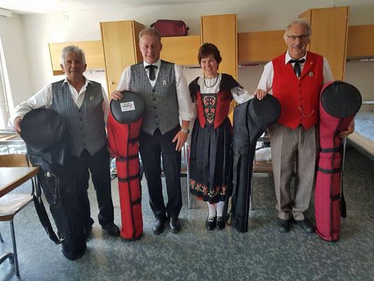 Thomi, Werner, Erika, Stöff, fehlt Fredi und Felix