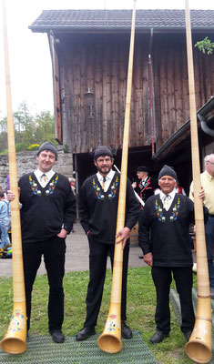Trio Zipfelchappa, Kurt, Urs und Thomi