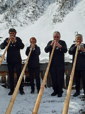 Urs, Monika, Bernhard, Thomi