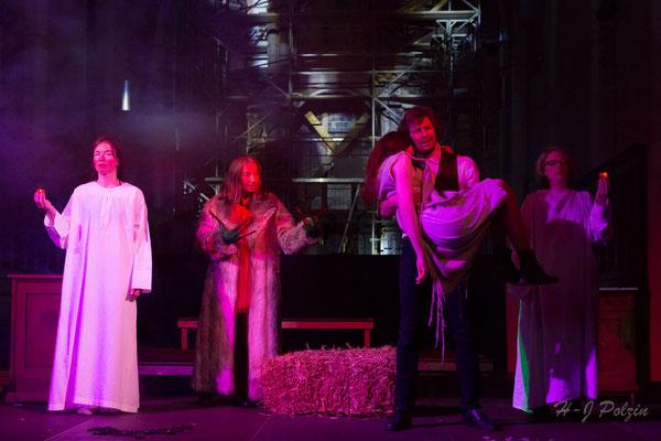 FAUST Theater Ludus Citykirche Aachen 2018