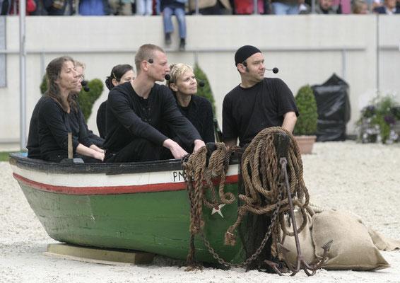 CHIO Aachen 2004 Der Fischzug des Petrus
