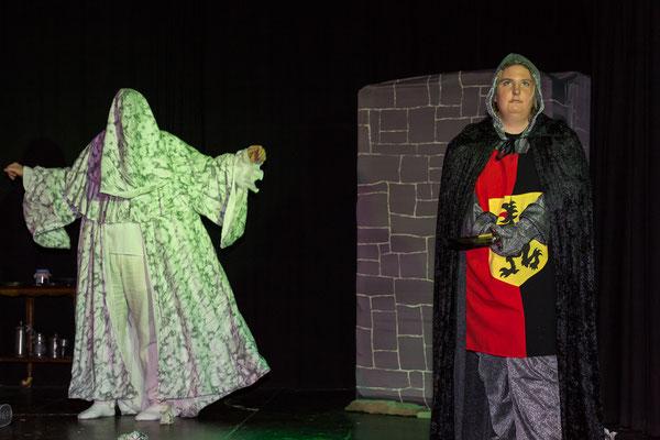 Viel Radau auf Burg Monschau  Theater Kunterbunt 2019