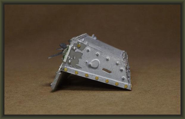 British Mk I 'Male' Tank, Diorama 1/35, Stage 11