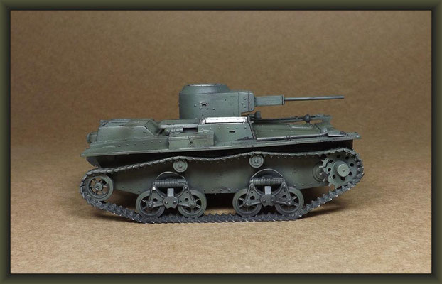 T-38 Soviet Light Amphibious Tank, Stage 3