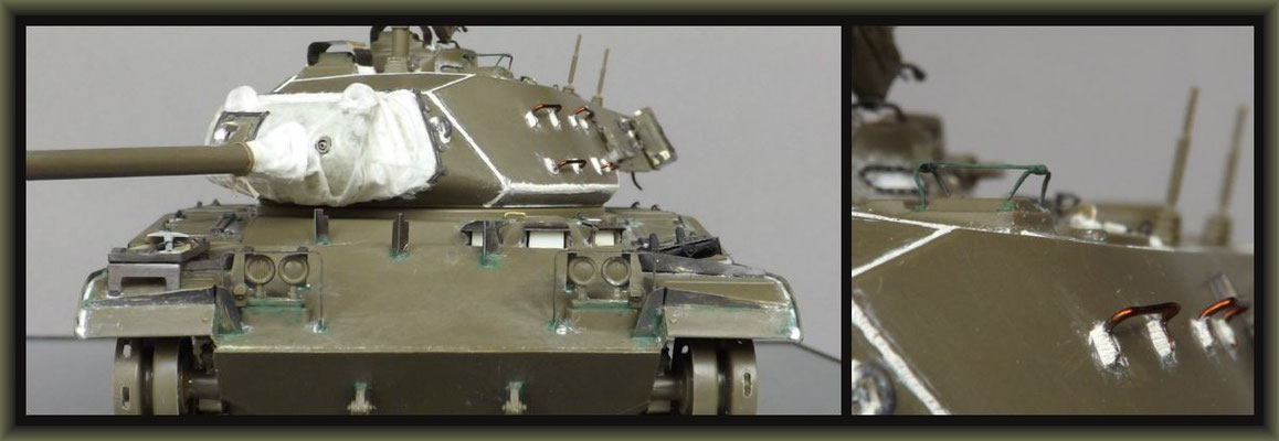 M41 Walker Bulldog ; Diorama 1/35 ; Staging