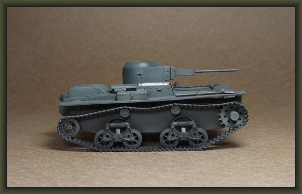 T-38 Soviet Light Amphibious Tank, Stage 3