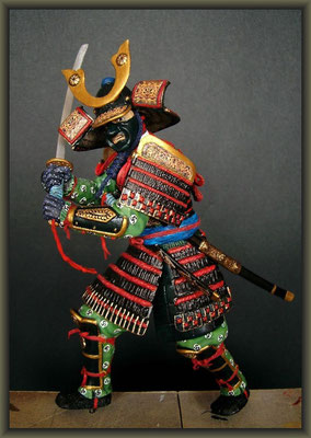 Samurai / MiniArt ; 1:16 ; Completion