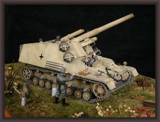 Sd.Kfz.165, Panzerhaubitze Hummel ( Early )