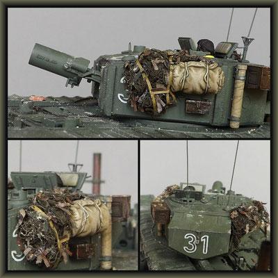 'Hobo's Bin' ; Churchill Mk III AVRE, 'Petard' ; Diorama 1/35 ; Completion