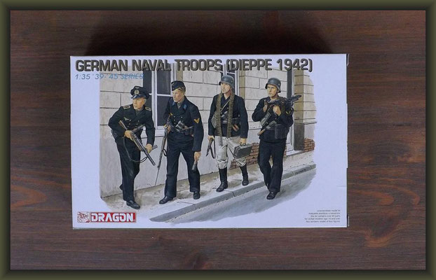 Dragon 6087 German Naval Troops (Dieppe 1942)