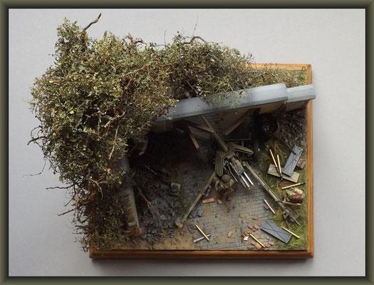 ParaPak ; 7,5-cm-PaK 40 ; Diorama 1/35 ; Completion