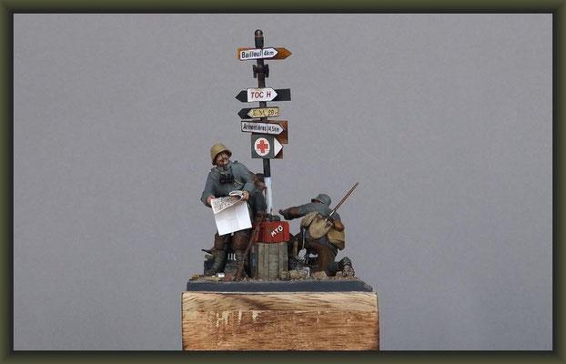 Up The Junction, WWI Vignette, Figure Conversion
