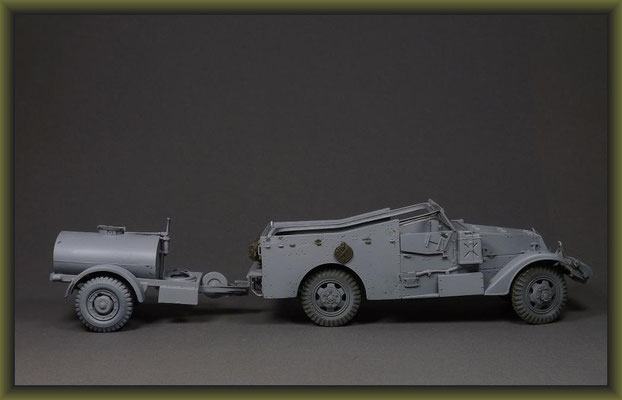 M-3 Scout Car, 1:35 Diorama Building Stages