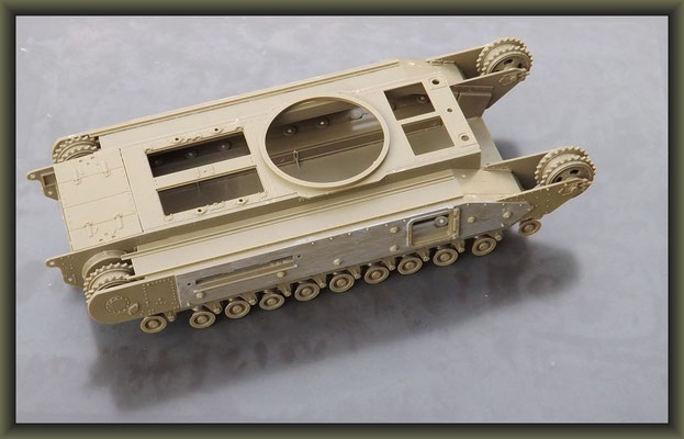Churchill Mk.III Dieppe Raid Ver. ; Diorama 1/35 ; Stage 1