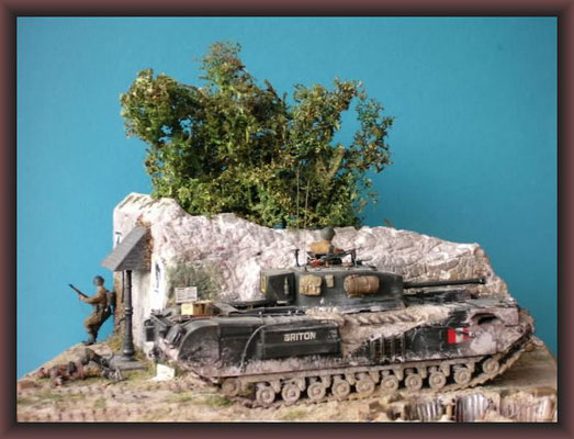 Churchill MK VII, Normandy 1944