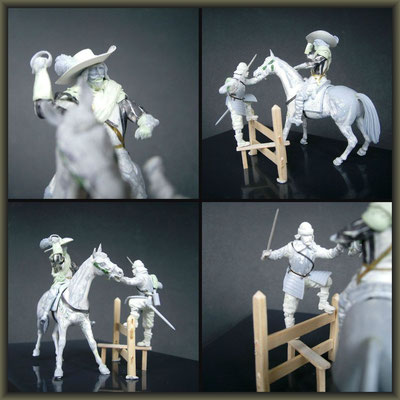 'The Wooden Horse' ; 54mm Airfix Figure Conversion ; 1. Stage