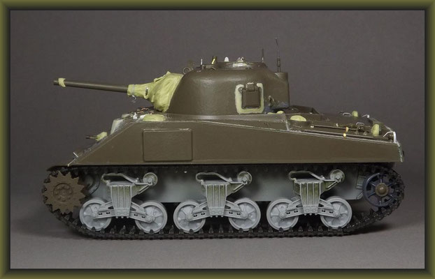 M4 Sherman Dozer w. Deep Wading Kit /  Diorama 1:35 Building Report