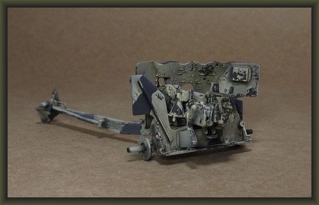 Bedford QL & 6 PDR. Gun, Diorama 1:35