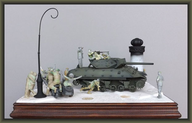 M-10 TD ; Diorama 1:35 ; Stage 4