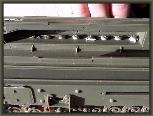 Churchill Mk III AVRE 'Petard' ; Diorama 1/35 ; 3. Stage