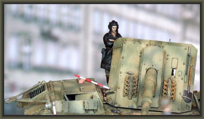 'Trophy Shot' ; Ardelt Waffenträger / Alan ; Diorama 1/35 ; Completion