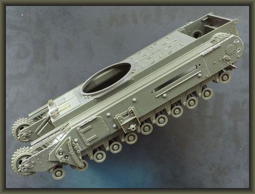 Churchill Mk III AVRE 'Petard' ; Diorama 1/35 ; 1. Stage
