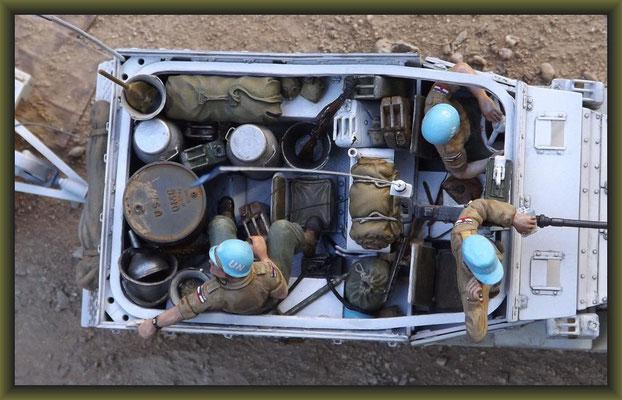 Pail Riders, M-3 Scout Car 1:35 Diorama