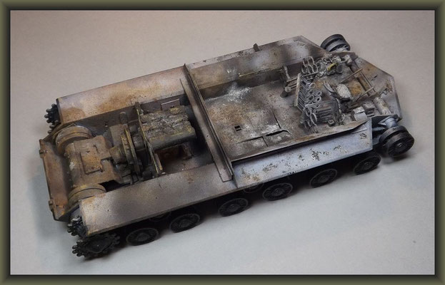 Trumpeter JS-3m ( Wreck ) ; Stage 3