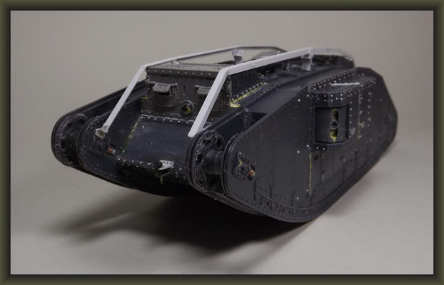 "Brit. Mk.IV ""Female"" Tank, Emhar 1:35, Building Report"