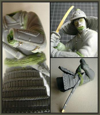 Samurai / MiniArt ; 1:16 ; 2.Stageing