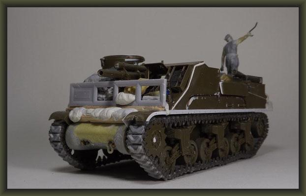M7B1 105mm HMC 'Priest' , Diorama 1:35, Building Report