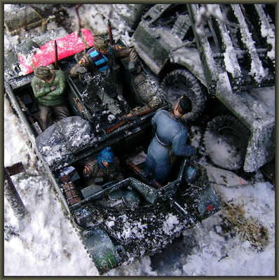'... to tight to mention' ; North Korea ; Winter 1950/51 ; Diorama 1/35 ; Completion